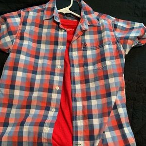 Tommy button up with gap tee 12-14